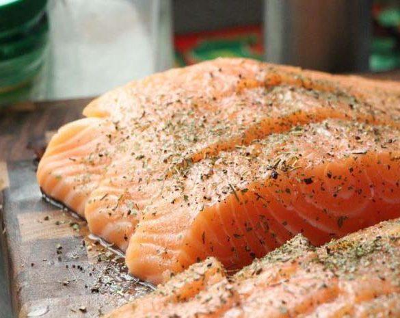 el salmón es salvaje