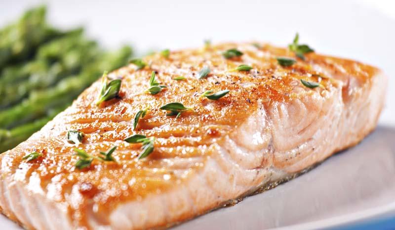 el salmón más rico